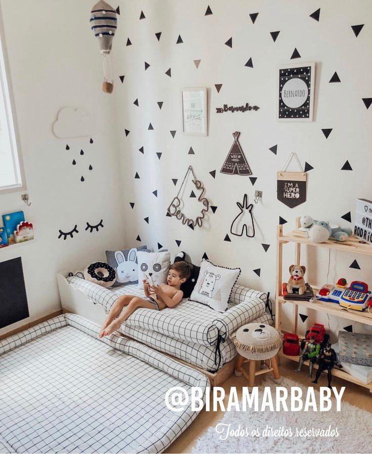 Montessoriano Quartinho alle von Biramar Baby. Die Boston Collection ist modern und perfekt für den Missbrauch von Kombinationen.