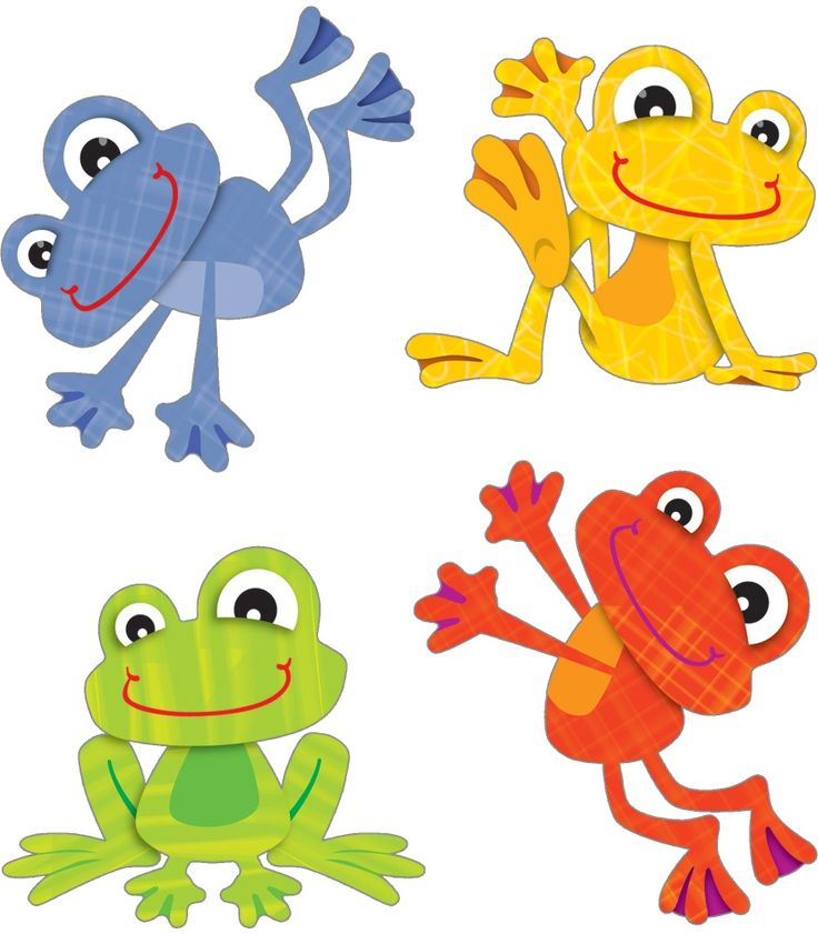 FUNky Frogs Temporary Tattoos | Classroom décor from Carson-Dellosa