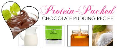 Chocolate Pudding with an extra dose of protein!
