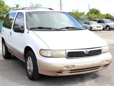 1997 Mercury Villager LS minivan for sale under $1000 in Miami, Florida FL