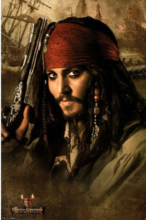 Johnny Depp in Pirates