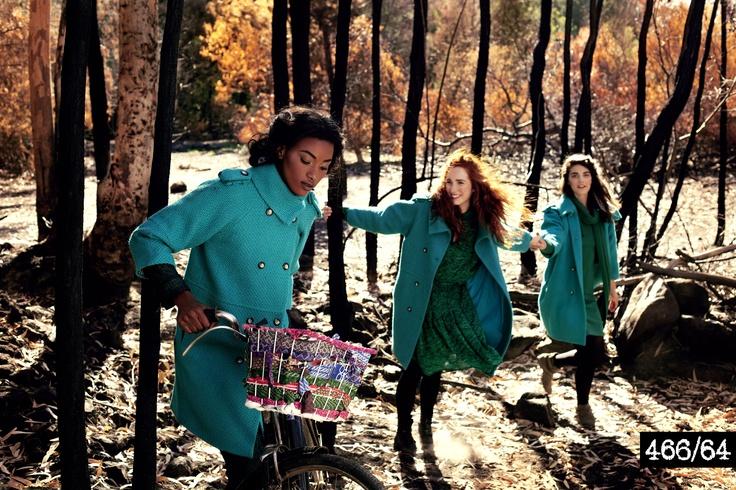 Womenswear - The Cocoon Coat & Herringbone Print Cocoon Dress