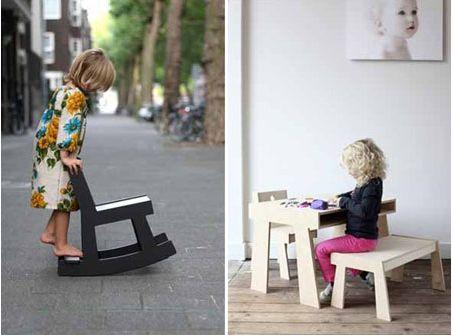Modern Children's Furniture by STEK