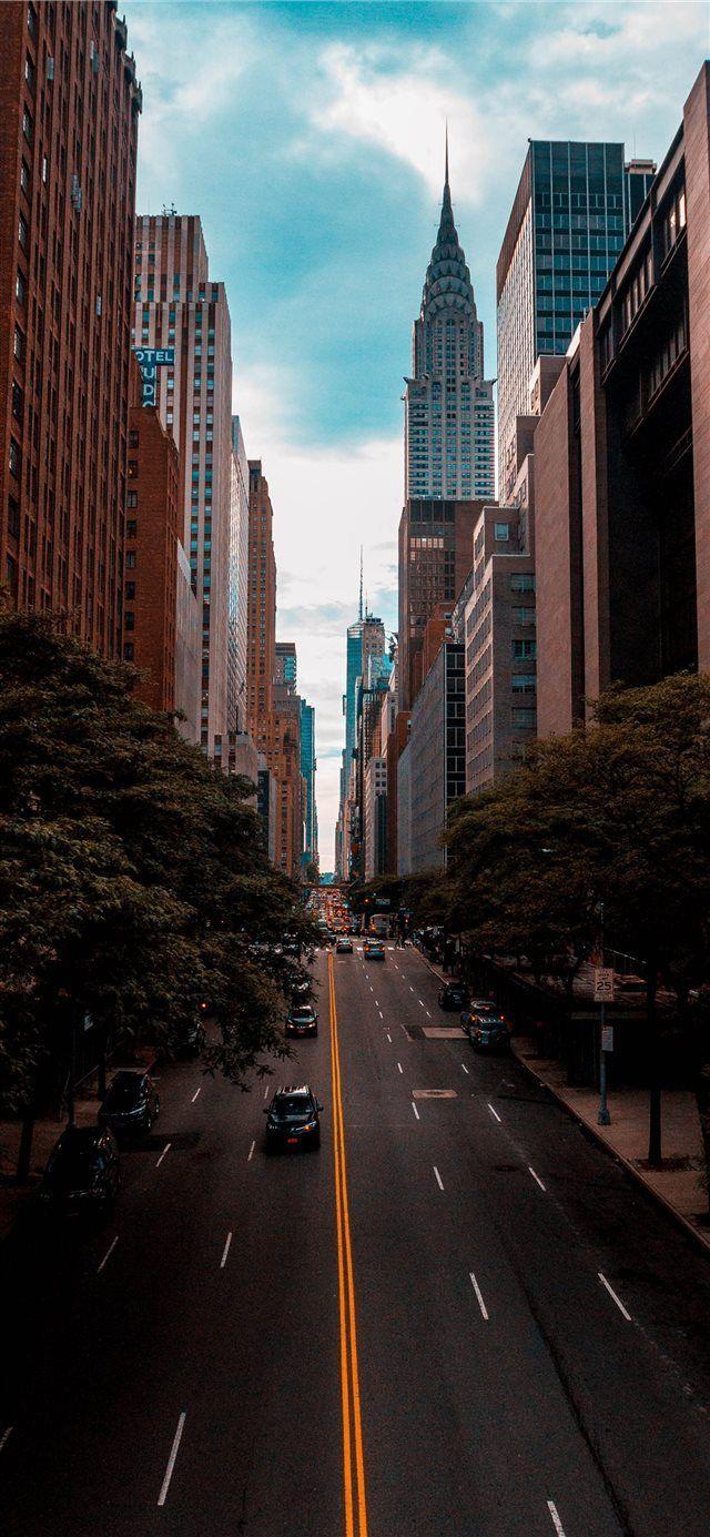 Chrysler Building New York Vereinigte Staaten iPhone X Hintergrundbild #Schiff