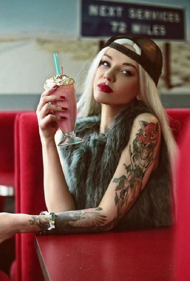 27 безумных татуировок на теле привлекательных девушек