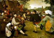 The Peasant Dance 1568  by Pieter the Elder Bruegel