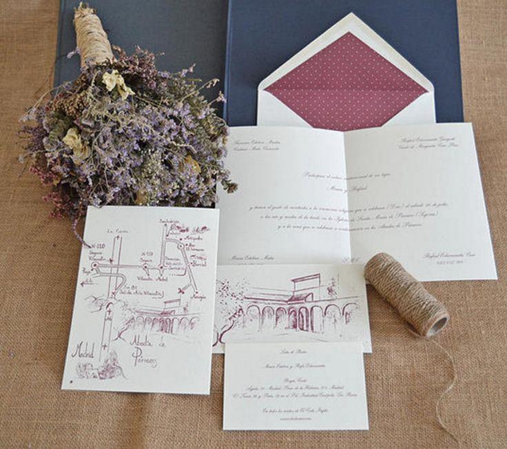 Románticas y elegantes como el otoño: así pueden ser tus invitaciones de boda – Portal de Bodas Zankyou | España