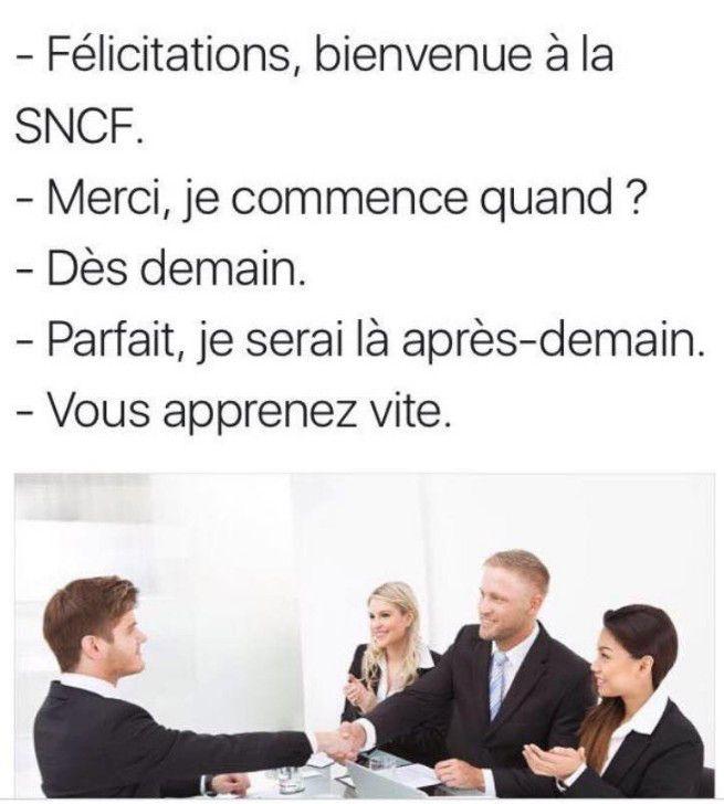 Recrutement à la SNCF   issyparis