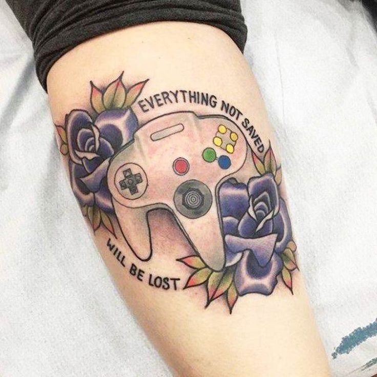 Best 25+ Gamer Tattoos Ideas Only On Pinterest