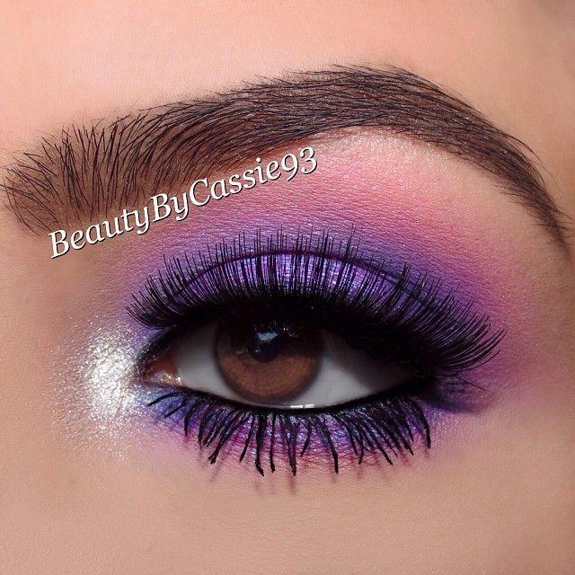 Close up of purple smokey look using @sugarnaturelbeauty eyeshadows in Crimson Eyes, Galaxy Eyes, Blue Light, Drama Queen lashes, Wonderbrow in Eva by @Natasha C Lehotska, and @luxielush brushes. ✨Complete product info can be found in my previous post.✨ #smokeyeye #eyes #eyeshadow #makeup #smokeyeyes #mua #beautybycassie93 #laurag_143 #motd #eotd #ilovemakeup #BeatThatFace #auroramakeup #labella2029 #theamazingworldofj #mayamiamakeup #vegas_nay #themakeupcollection #wakeupandmakeup…