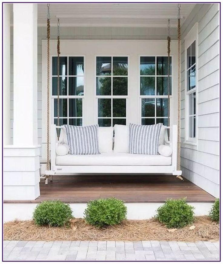 25 Modern Farmhouse Porch Decor Ideas * in-country-d …