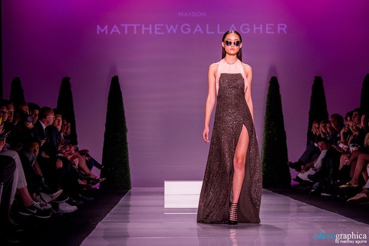Matthew Gallagher Spring 2015   Photo: Photographica by Maloney Aguirre #fashion #style #womenswear #models #model #canadian #canadianfashion #luxury #art #fashionweek #toronto #beauty #beautiful #dress #gown #redcarpet #maxidress #sexy #sunglasses #legs #haltertop