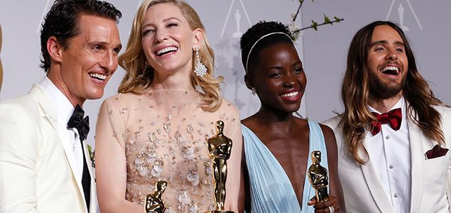 Take a look at all the action from this year's Oscar awards, from the red carpet to the ballroom and backstage.