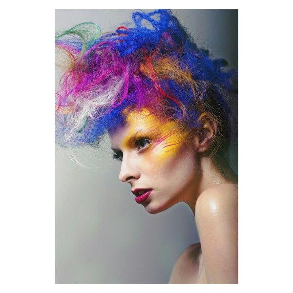 Hair & Makeup: Walter Fuentes Photo: Cody Kinsfather Model: Robin Christina