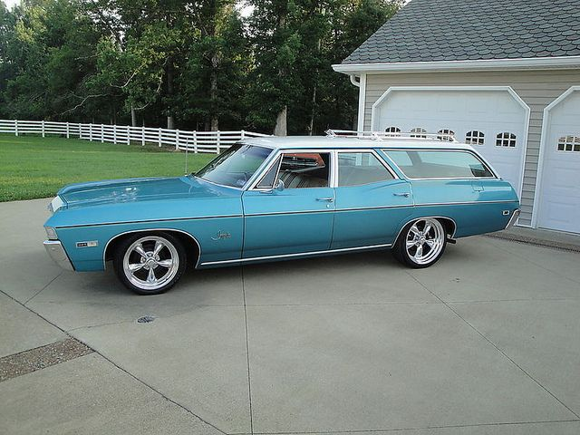 1968 Impala Station Wagon ..Re-pin...Brought to you by #CarInsurance at #HouseofInsurance in #Eugene, Oregon