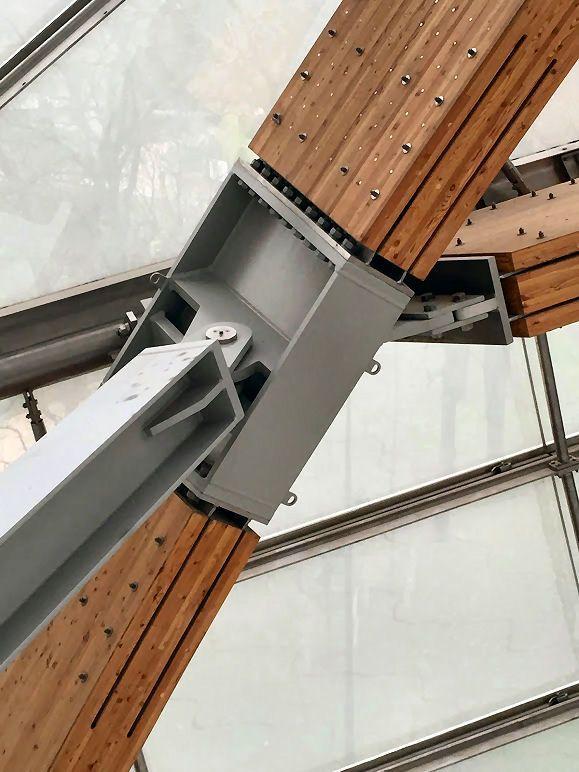 Las 25 mejores ideas sobre estructuras metalicas para - Estructura de madera para casas ...