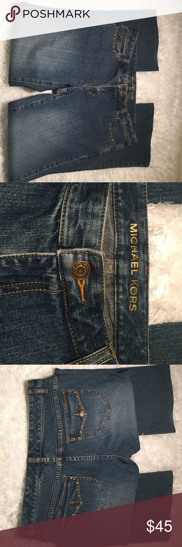 "Michael Kors Women's Flare Jeans - Size 10 Wow!!! These are great jeans!  Michael Kors does not disappoint with the quality in these jeans.  Size - 10 / Inseam - 30.5"" Michael Kors Jeans Flare & Wide Leg"