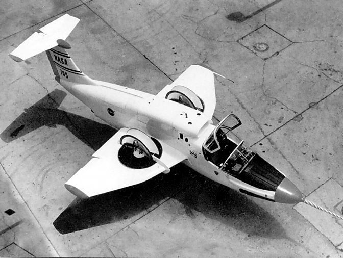 The Ryan XV-5 Vertifan was a jet-powered V/STOL experimental aircraft in the 1960s.
