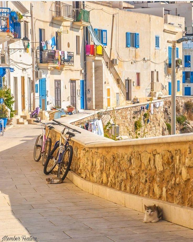 Ilha de Levanzo, Sicília, Itália