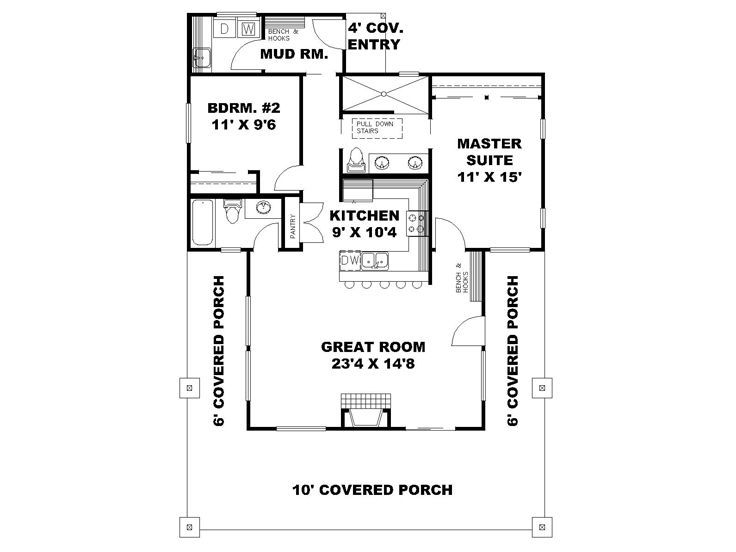 Home Plan 001 3646 Home Plan Great House Design Floor Plans House Plans Small House Plans