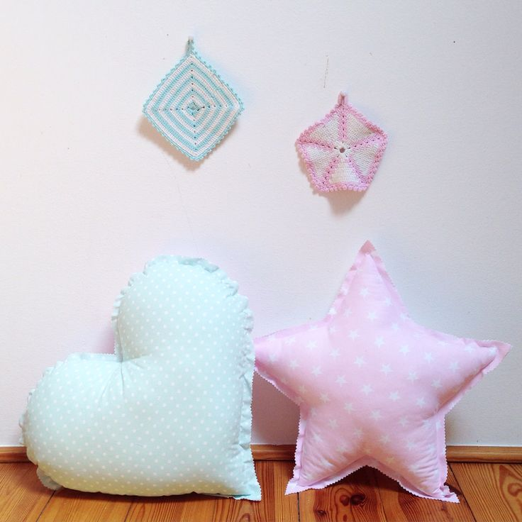 #pillows #star #cloud #pastels #kids