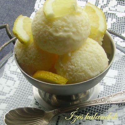 Ízes kalandok: Joghurtos citromfagylalt