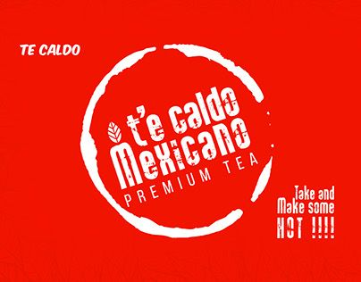 "Check out new work on my @Behance portfolio: ""t'e caldo mexicano - Tea packaging"" http://be.net/gallery/38799205/te-caldo-mexicano-Tea-packaging"