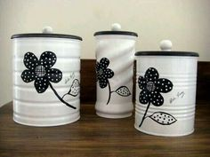 Ideas para decorar las latas de fórmula