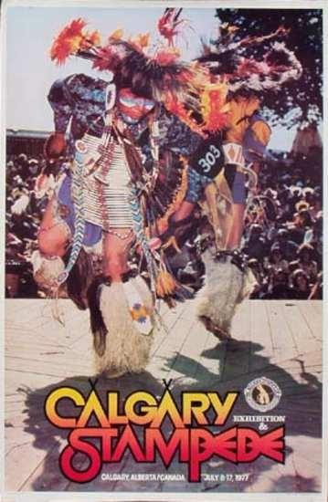 Calgary Stampede Poster 1977