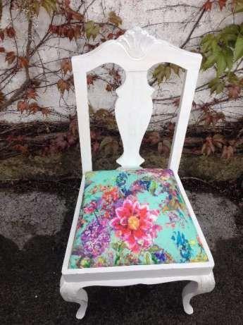 Cadeira estilo Queen Anne Campolide - imagem 1