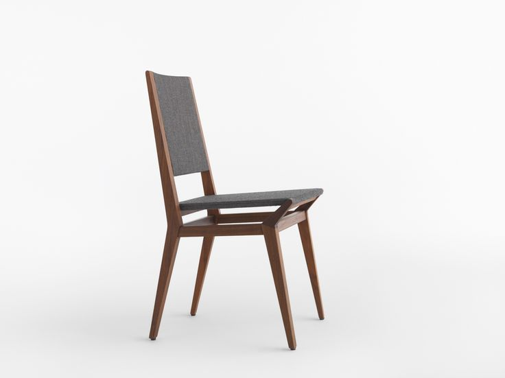 TRIBECA / Design: Studio Balutto, 2016. Simplicity is one of its strengths. The comfortable sitting is composed of high-quality finely worked solid wood sides connected with cantilever beam on the lower side.