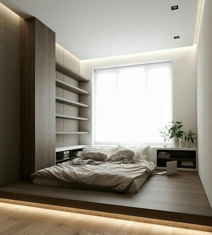 bedroom . minimal . modern . wood . home . oriental