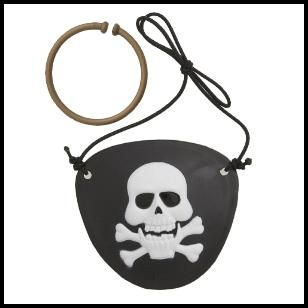 Pirate Fun Eye Patch Set, $.59 Cdn set/2.
