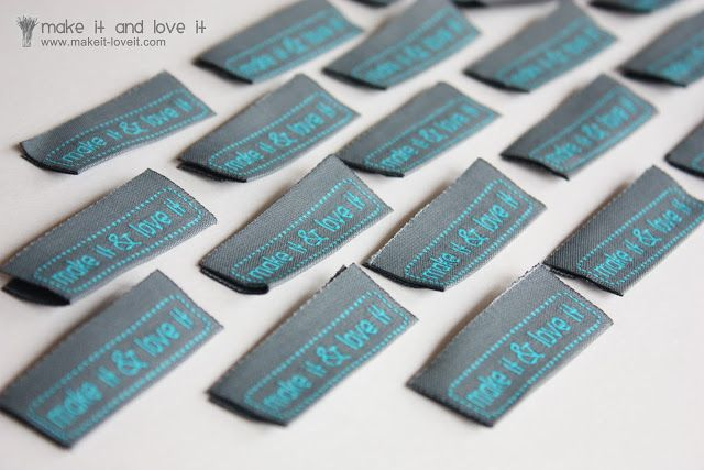 how to make clothing labels with embroidery machine