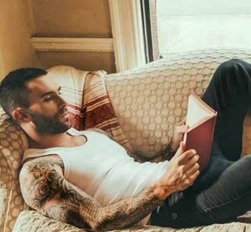 Adam Levine reads.