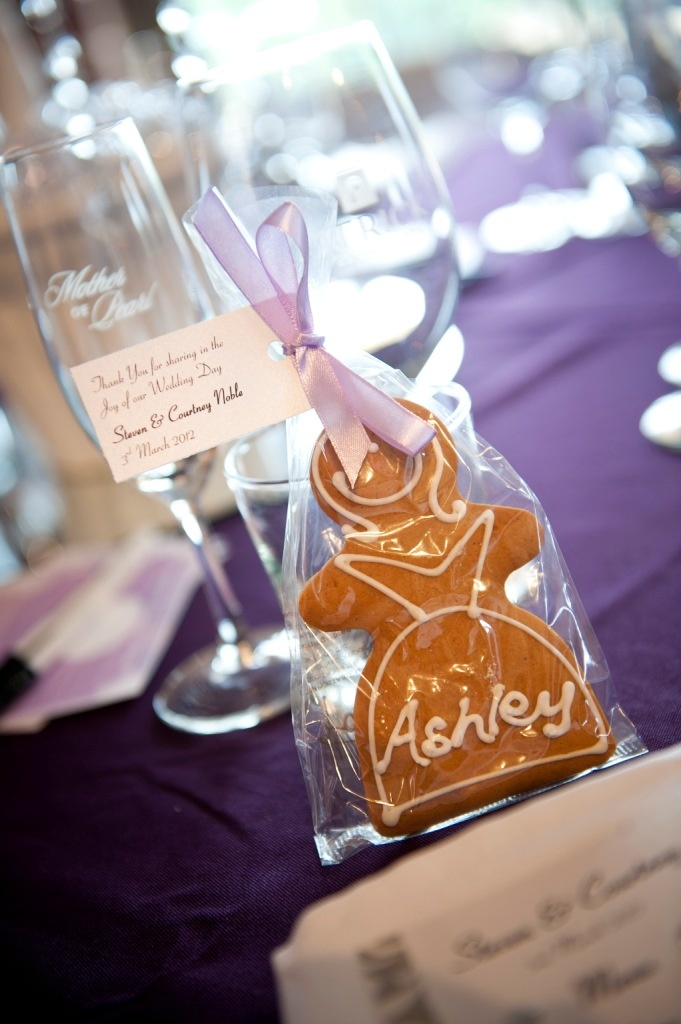 Pretty Purple Themed Wedding