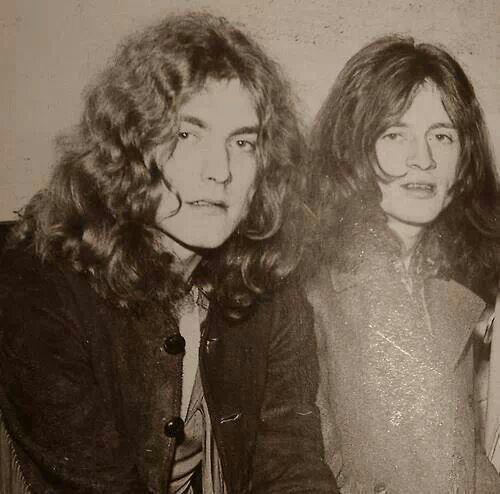 Robert Plant and John Paul Jones -- Led Zeppelin
