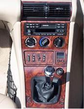 bmw z3 z 3 z 3 e37 e36 interior burl wood dash trim kit set bmw z3 1996 3 bmw