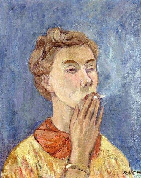 TOVE JANSSON Omakuva (Self-Portrait, 1940)