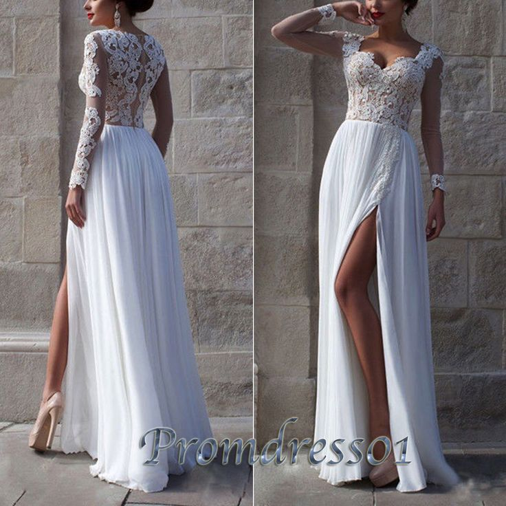 17 Best images about Long Prom Dresses on Pinterest | Chiffon ...