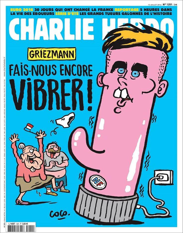 Charlie Hebdo - # 1251 - 13 Juillet 2016 - Couverture : Coco