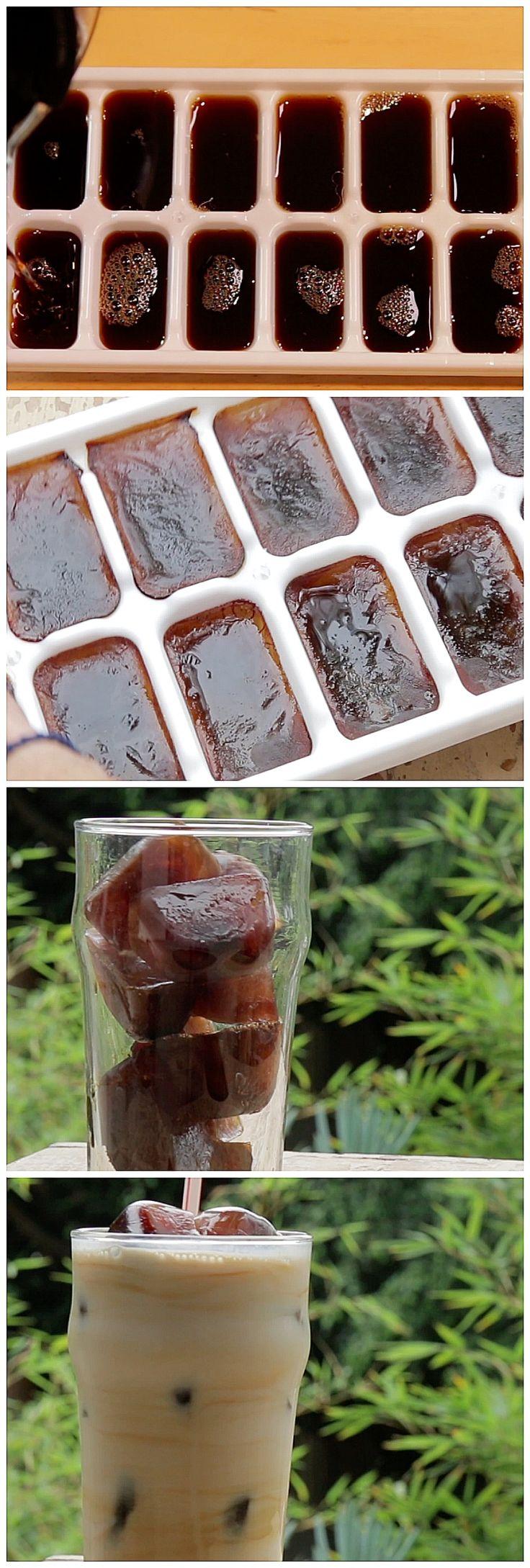 Easy way to make iced coffee