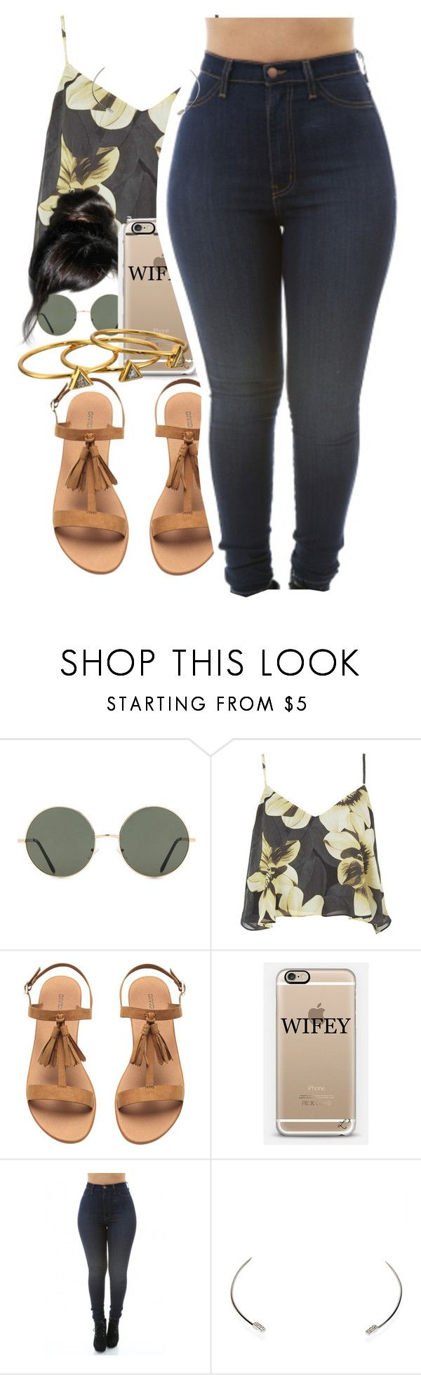 """""""k dot"""" by thaofficialtrillqueen ❤ liked on Polyvore featuring Forever 21, Topshop, Wet Seal and Gorjana"""