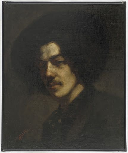 Portrait of Whistler with a Hat - Artist: James McNeill Whistler,  Sitter: James McNeill Whistler — Google Arts & Culture