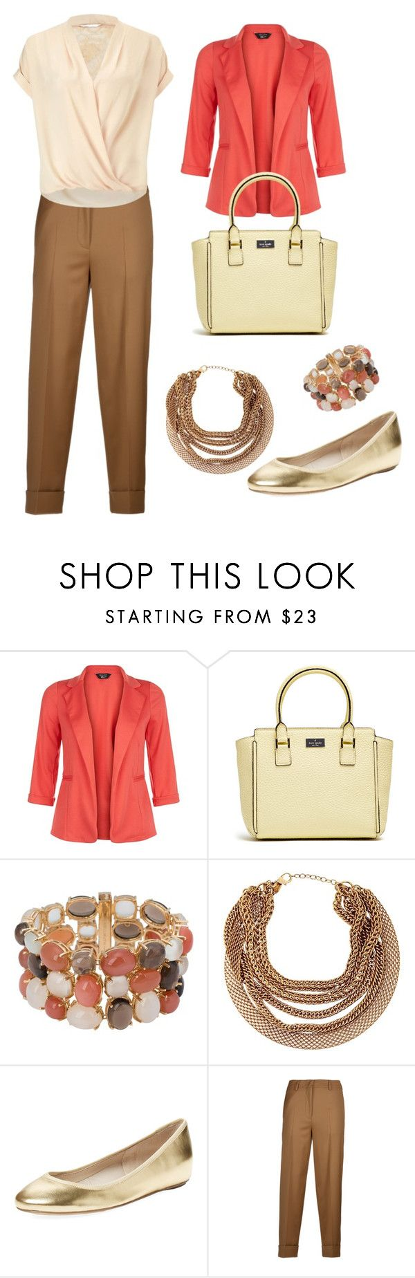 Earth colours by stylebyeliana on Polyvore featuring Miss Selfridge, New Look, Incotex, Elorie, HELLMUTH and Roberto Cavalli