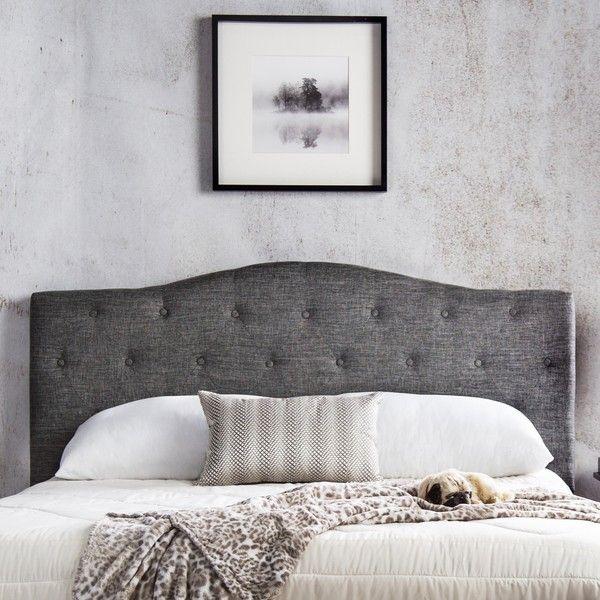 Best 25 Grey Upholstered Headboards Ideas On Pinterest