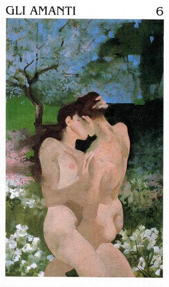 The Lovers - Tarocchi di Ferenc Pintér