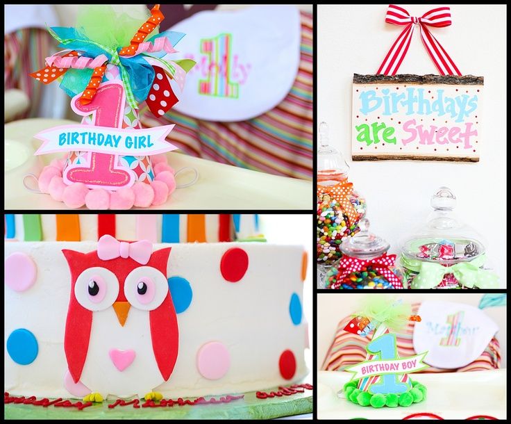 Owl PartyOwls Birthday, Birthday Parties, Owls Parties, 1St Birthday, First Birthday, Owls Theme, Owls 1St, Birthday Owls, Birthday Ideas