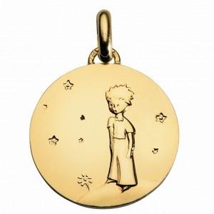 La médaille du Petit Prince sur sa planète