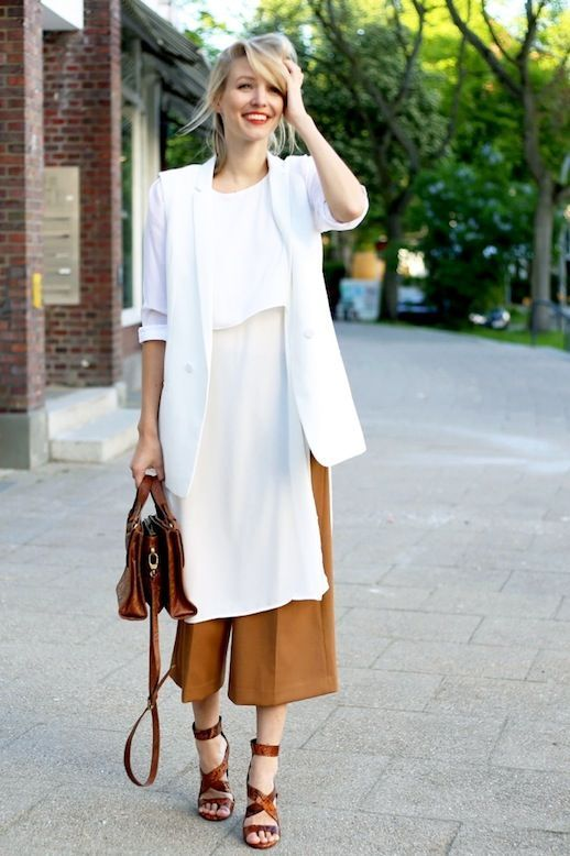 A Blogger Makes An Incredibly Chic Case For Camel Culottes